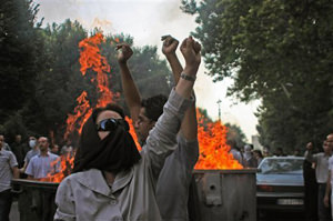 Protesters Venture Out in Tehran