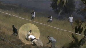 Israeli Settlers Open Fire on Palestinians (Video)