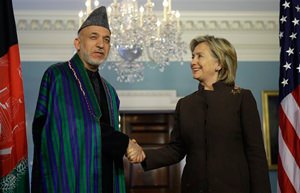 Team Obama Handles Karzai With Kid Gloves