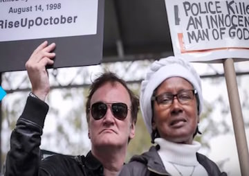 VIDEO: Head of NYPD Union Calls for Boycott of Quentin Tarantino's Films