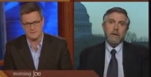 Scarborough, Krugman to Face Off on 'Charlie Rose'