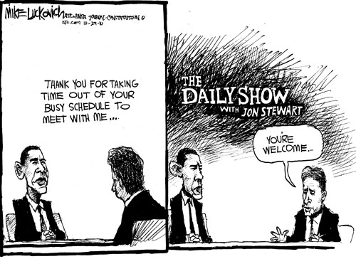 Obama on 'The Daily Show'