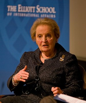 Madeleine Albright: Why Would Any Woman Vote for Mitt?
