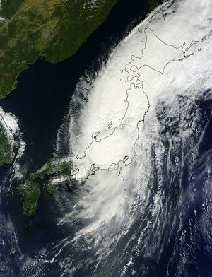 Typhoon Lands in Japan, Fukushima Remains an Open Wound (Updated)