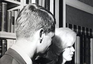 Marilyn Monroe and Two Kennedys, Captured in a Snap