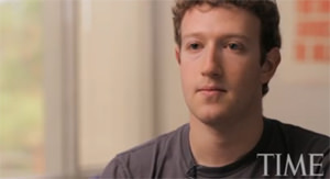Time Taps Zuckerberg as Person of the Year