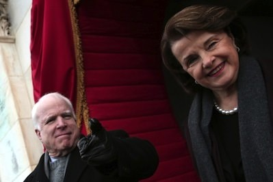 Truthdiggers of the Week: Sens. John McCain and Dianne Feinstein