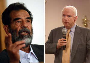 What Do John McCain and Saddam Hussein Have in Common?