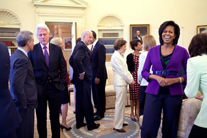 First Lady Lands on Top of Power List