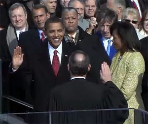Obama Takes Oath Again, Just to Be Safe