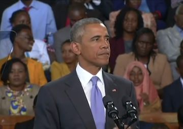 VIDEO: Obama in Kenya: 'No Excuse' for Violence Against Women
