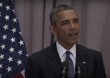 VIDEO: Obama Casts Opponents of the Iran Deal as Warmongers