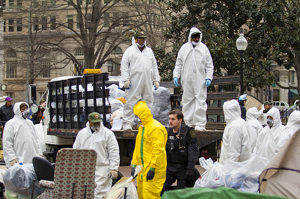 Police Give Occupy D.C. a Tidying