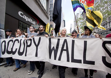Who's Afraid of Occupy Wall Street? Apparently, the Red Cross