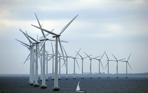 Wind Farmers Head Out to Sea