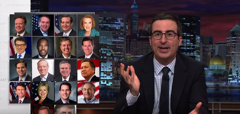 VIDEO: John Oliver Stumps for Federal Equal Rights Law; Outs Candidates for Anti-LGBT Stance