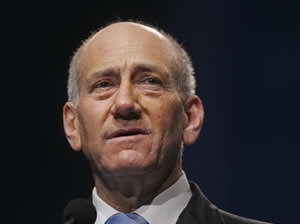 Olmert: 'The Iranian Threat Must Be Stopped'