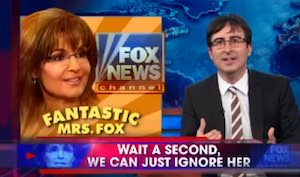 The Campaign to Ignore Sarah Palin
