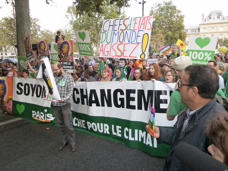 If 'Life Must Go On,' Say Groups, France Must Lift Ban on Climate Protests