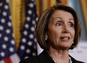 Watch: Pelosi's Classic Response to Bachmann Anti-Gay Marriage Statement