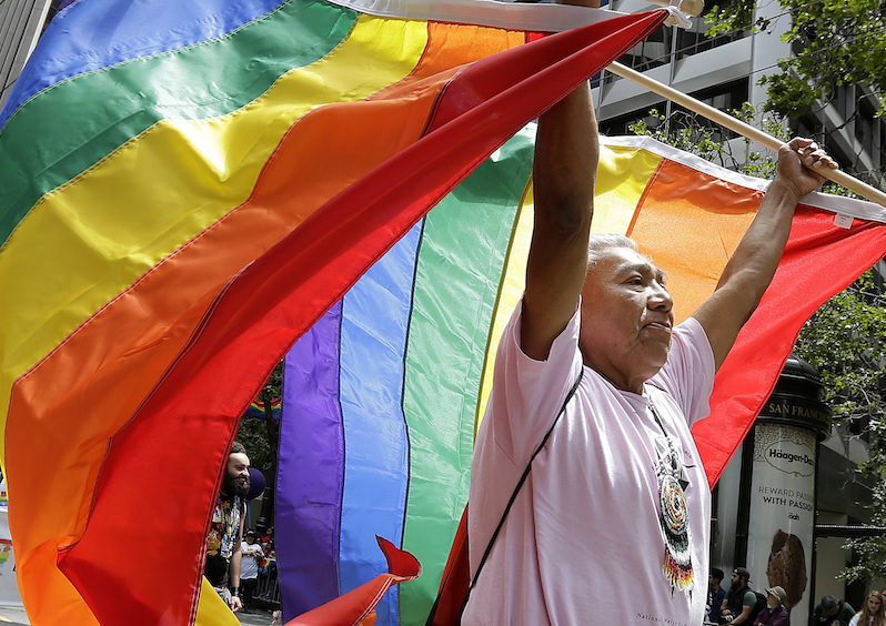 Gay Pride Parades Sound a Note of Resistance