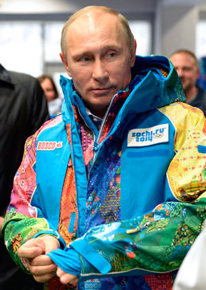 Putin Tells Homosexuals That They Must 'Leave Children Alone' at the Winter Olympics