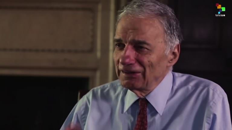 VIDEO: Chris Hedges and Ralph Nader on Corporate Control, Faux Liberals and Hillary Clinton