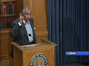 Rep. Rangel Steps Down From Chairman Post (for Now)