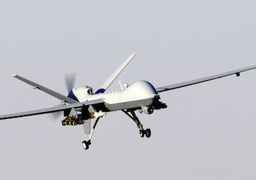 War Zone Tactics Come Home as Pentagon Admits Domestic Spy Drone Use