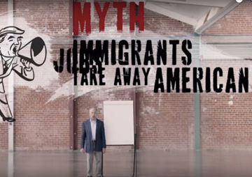 VIDEO: Here's the Truth Behind the 4 Biggest Lies About Immigrants