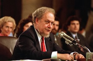 Robert Bork: A Pass on Watergate, Not 'Original Intention'