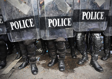 Obama Bans Federal Government From Giving Some Military Gear to Local Police Departments