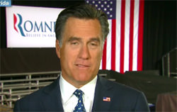 Mitt Romney Says He Is 'Not Concerned About the Very Poor'