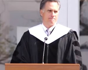 Romney's Advice to College Grads: Get Married, Have Babies