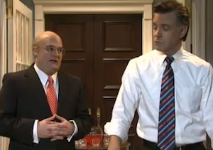'SNL' Spoofs Romney Election Loss