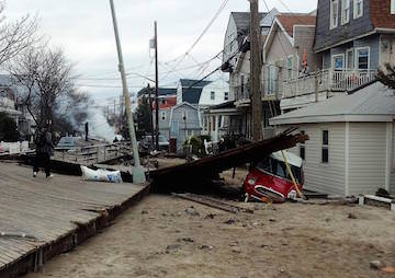 U.S.' Atlantic Coast Likely to Take Worse Battering With Warming