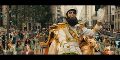 Baron Cohen Rides Again in 'The Dictator'