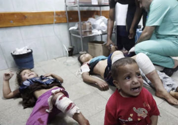 Did Israel Go Too Far? The Massacre at the U.N. School/ Refugee Center (Video)