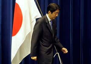 Japanese PM Resigns