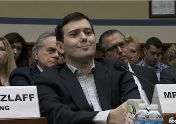 VIDEO: Shkreli Does Little to Help His Cause in Smirky Encounter With Capitol Hill 'Imbeciles'