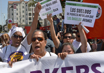 Los Angeles to Raise Minimum Wage to $15 an Hour