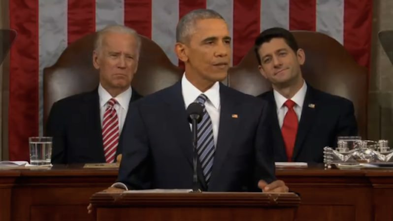 VIDEO: Obama Offers a First Draft of His Legacy in Last State of the Union Speech