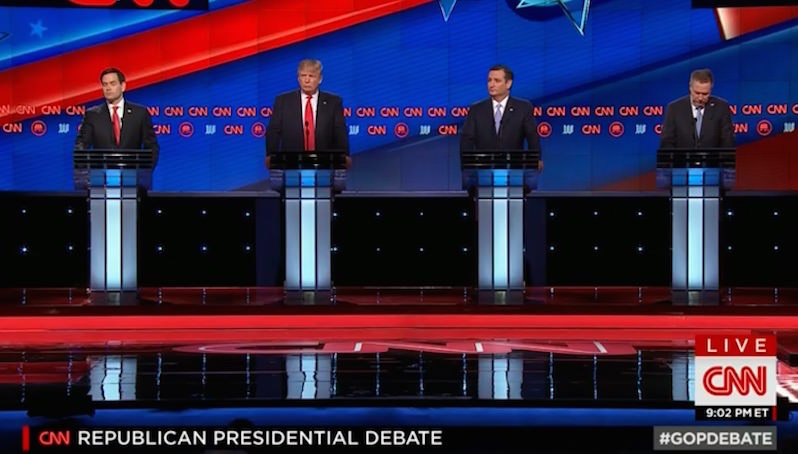 Live Blog: Policies, Not Personalities, Take Center Stage in 12th GOP Debate