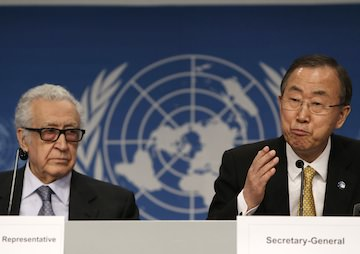 Syrian Peace Talks Get Tense in Opening Session