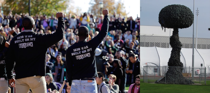 Truthdiggers of the Week: The Missouri U. Football Team and Those Who Saved 'Chain Reaction'