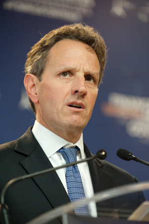 Tim Geithner and the Wall Street Bailout Redux
