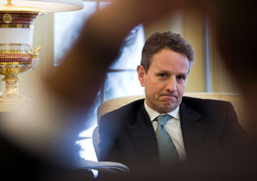 Geithner Tacitly Acknowledges Special Relationship With Citigroup