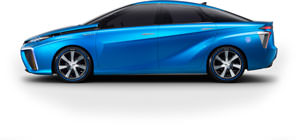 Toyota Is Going to Sell a Hydrogen Car Globally in 2015