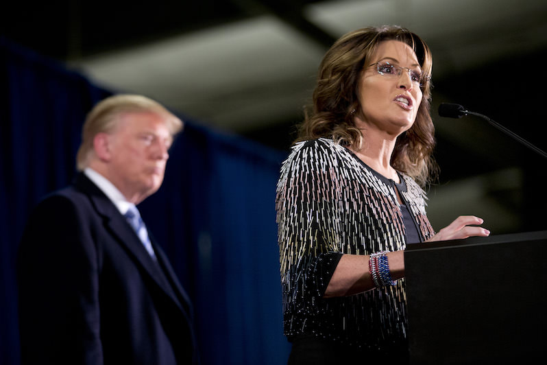 Sarah Palin Takes the GOP Campaign to New Lows