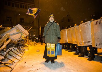 Ukrainians Rebel Against Russia to Join 'Europe'